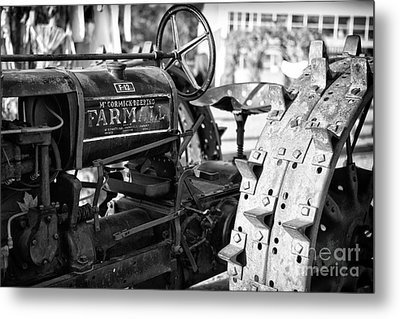Good Old Tractor Metal Print by Thanh Tran