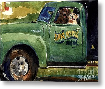 Good Ole Boys Metal Print by Molly Poole