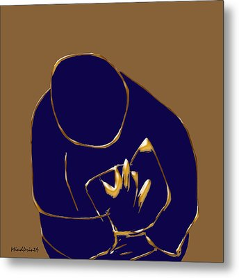 Good Read Metal Print by Asok Mukhopadhyay