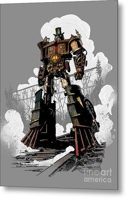 Good Robot Metal Print by Brian Kesinger