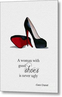 Good Shoes Metal Print