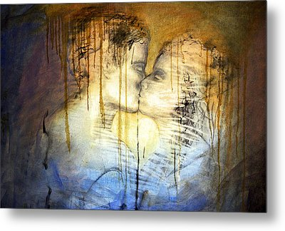 Metal Print featuring the photograph Goodbye Sadness...goodbye by Allen Beilschmidt