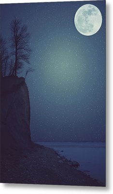 Goodnight Moon Metal Print by Carrie Ann Grippo-Pike