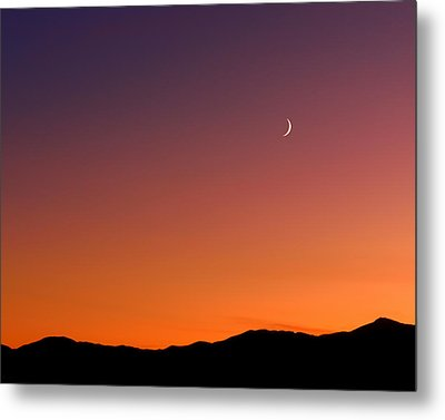 Goodnight Moon Metal Print by Rona Black