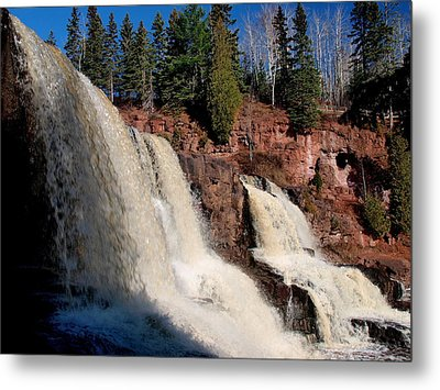 Gooseberry Falls Metal Print by James Peterson