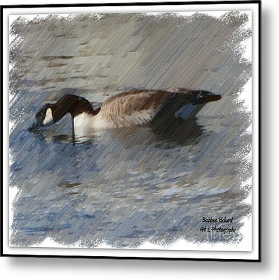 Goosey Lucy Painting Metal Print