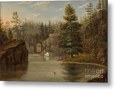 Gorge Of The St Croix Metal Print