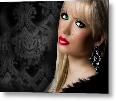 Gorgeous 2 Metal Print by Karen Showell
