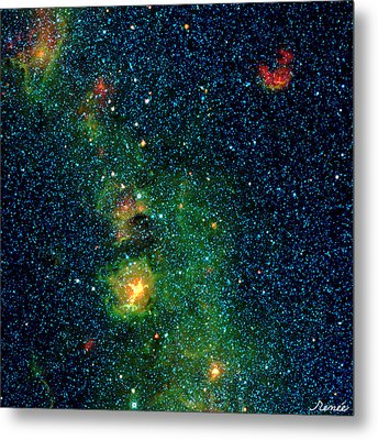 Gorgeous Galaxy Metal Print