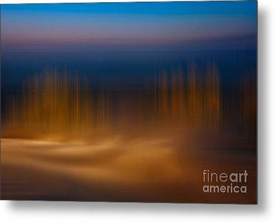 Gossamer Sands - A Tranquil Moments Landscape Metal Print