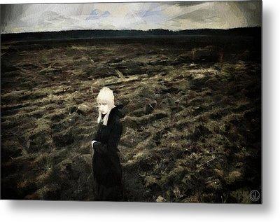 Goth Autumn Metal Print by Gun Legler