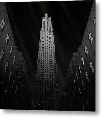 Gotham Metal Print by Ben Rea