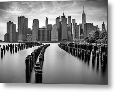 Gotham City New York City Metal Print