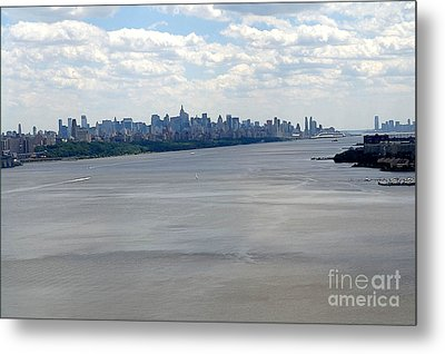 Gotham On The Hudson Metal Print