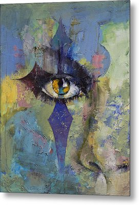 Gothic Art Metal Print by Michael Creese