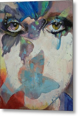 Gothic Butterflies Metal Print by Michael Creese