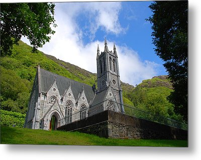 Gothic Church Metal Print by Charlie and Norma Brock