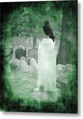 Gothic Green Metal Print by Gothicrow Images