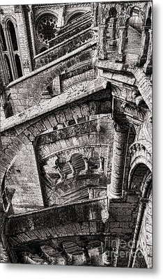 Gothic Metal Print by Olivier Le Queinec