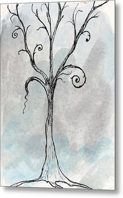 Gothic Tree Metal Print by Jacquie Gouveia