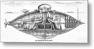 Goubet Submarine Metal Print by Bildagentur-online/tschanz