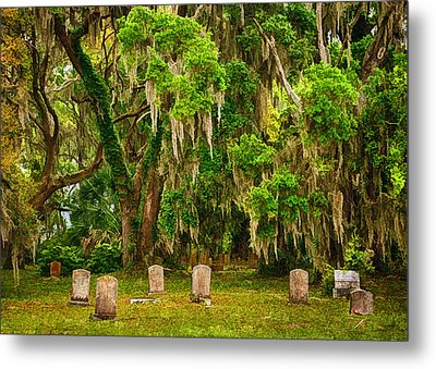 Gould's Cemetery Metal Print by Priscilla Burgers