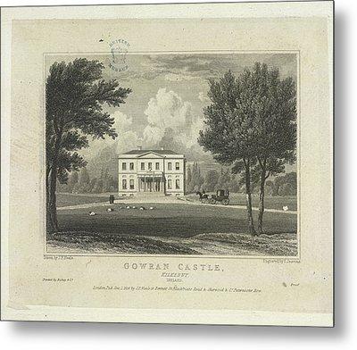 Gowran Castle Metal Print by British Library