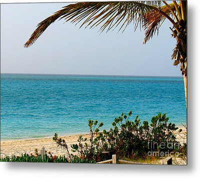 Grace Bay Metal Print by Patti Whitten
