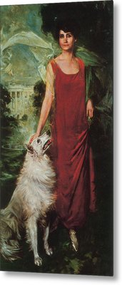 Grace Coolidge, First Lady Metal Print