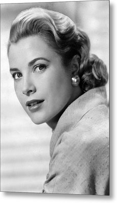 Grace Kelly In Her Prime Metal Print by Retro Images Archive