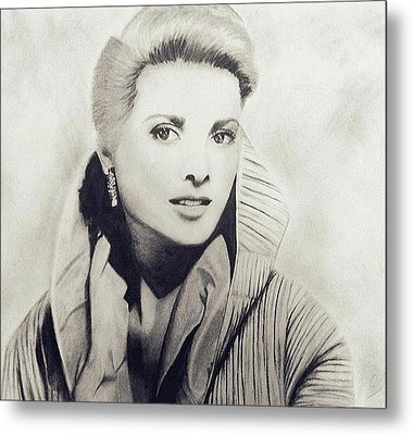 Grace Kelly Metal Print by Sarah Mirza