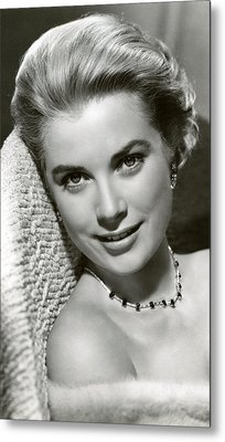 Grace Kelly Smiles Metal Print by Retro Images Archive