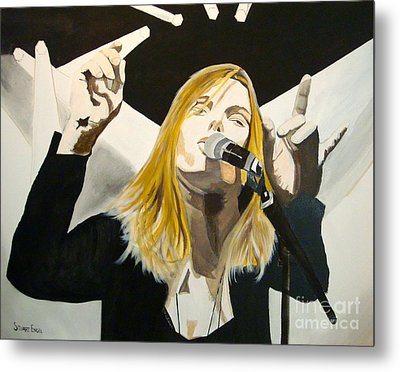 Grace Potter At The Peel Metal Print