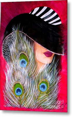 Grace Metal Print by Sonya Ragyovska