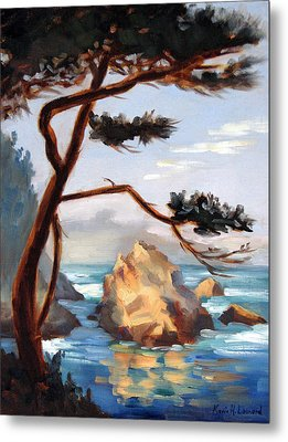 Graceful Pine Pt. Lobos Metal Print