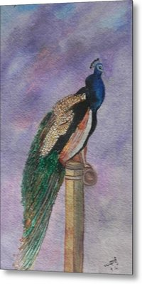 Graceful Metal Print by Usha Rai