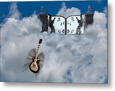 Graceland Metal Print by Bill Cannon