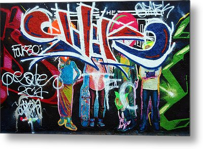 Graffiti Art Metal Print by David Pantuso