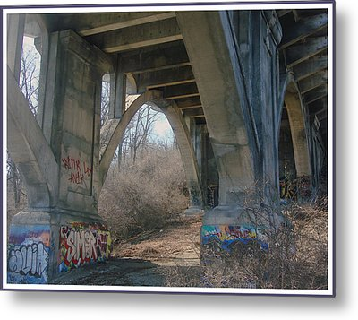 Graffiti Kansas City 9 Metal Print by Ellen Tully