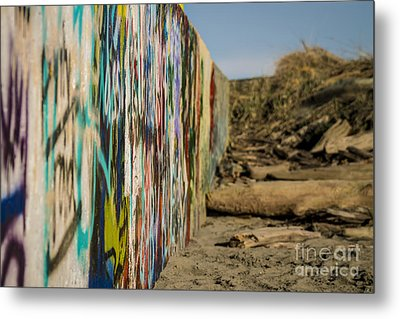 Graffiti Wall Metal Print
