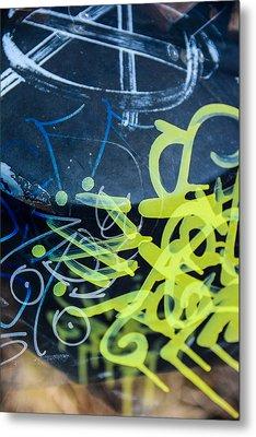 Grafiti Metal Print