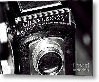 Graflex 22 Metal Print by John Rizzuto