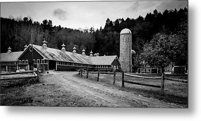 Metal Print featuring the photograph Grafton Cheese Dairy by Jeremy Farnsworth