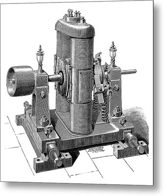 Gramme Dynamo Metal Print by Science Photo Library