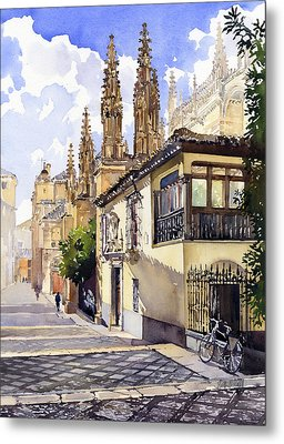 Granada Cathedral Metal Print by Margaret Merry