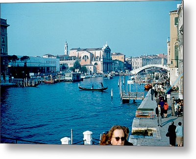 Grand Canal Venice 1961 Metal Print by Cumberland Warden