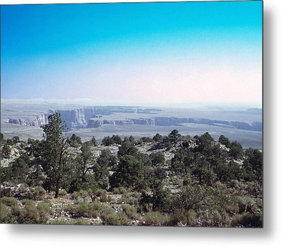 Metal Print featuring the photograph Grand Canyon 1972 by John Mathews