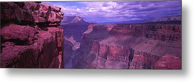 Grand Canyon, Arizona, Usa Metal Print by Panoramic Images