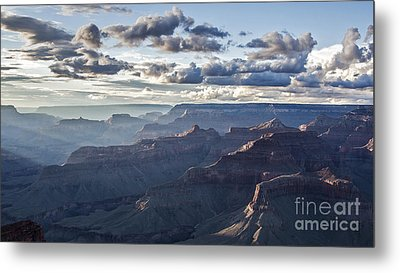 Grand Canyon At Sunset Metal Print by Shishir Sathe