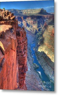 Grand Canyon Awe Inspiring Metal Print by Bob Christopher